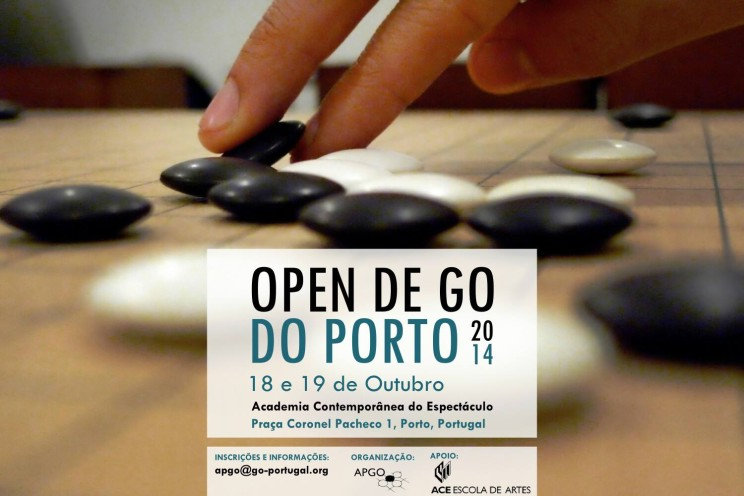 Open Go Porto 2014 cartaz